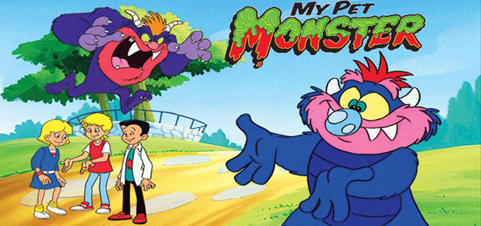 My Pet Monster - Cartoon