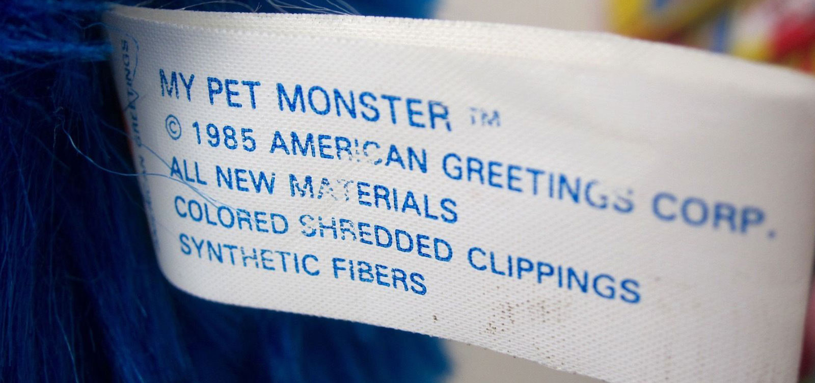 My Pet Monster - Label