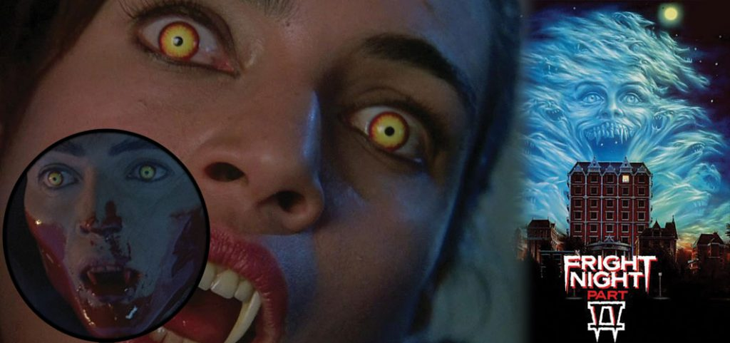 Kick Ass Vampires - Regine - Fright Night Part 2 (1988)
