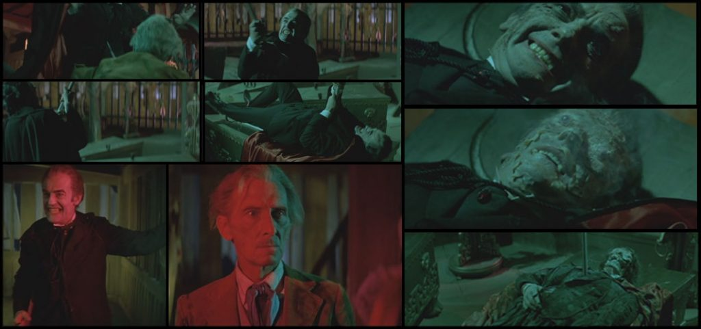 The Many Deaths of Hammer's Dracula - The Legend of the 7 Golden Vampires (1974)