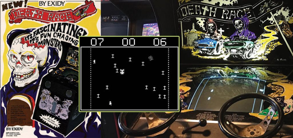 Horror Video Game History - Death Race