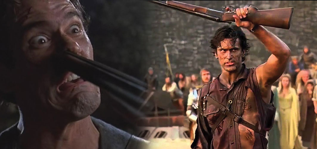 The most Awesome Guns in Film - Ash and his Boomstick