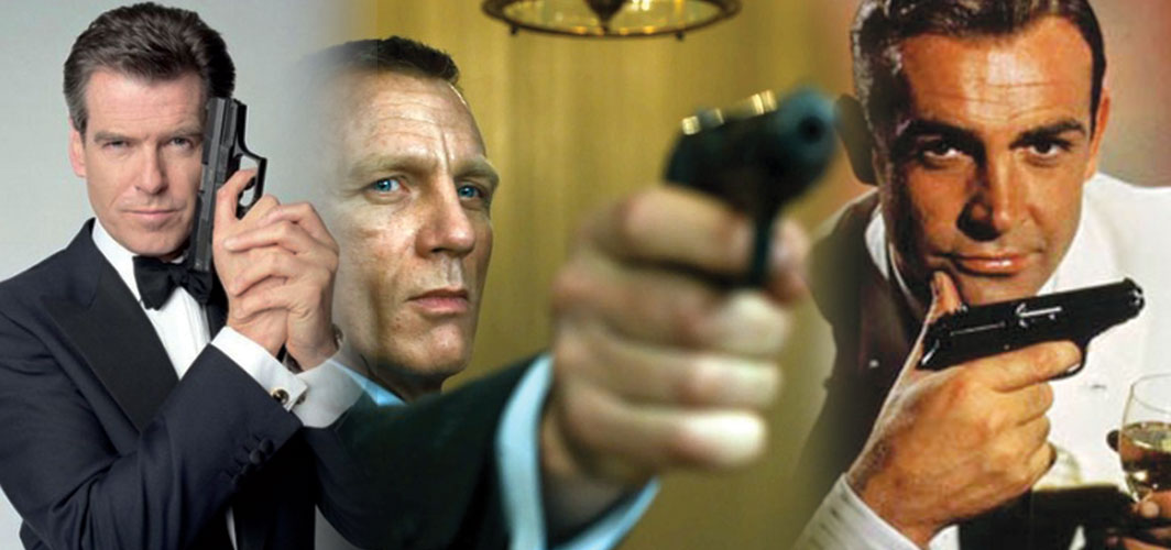The most Awesome Guns in Film - James Bond and his Walther PPK