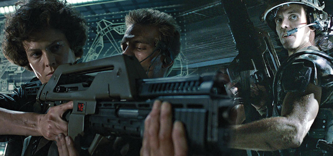 The most Awesome Guns in Film - M41A Pulse Rifle - Aliens