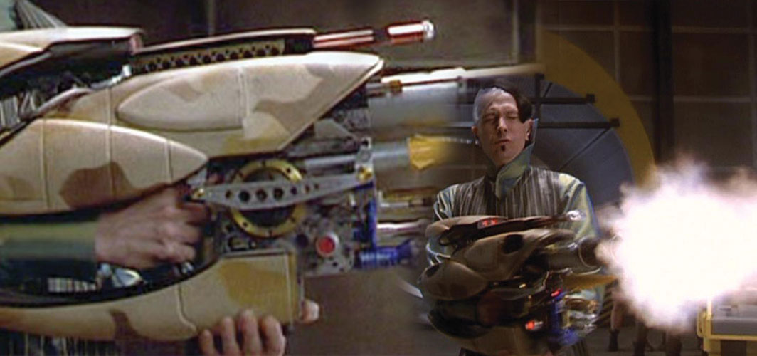 The most Awesome Guns in Film - Pod Gun - Fifth Element