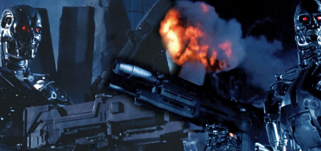 The most Awesome Guns in Film - Westinghouse M95A1 Phased Plasma Rifle - Terminator 2