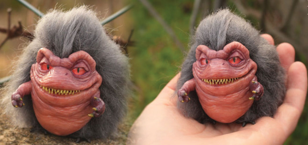 Gift Ideas for Horror Fans - Critters Figurine Handmade