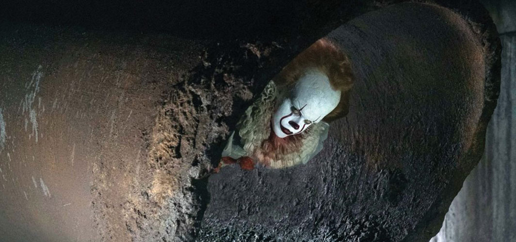 IT: Pennywise lurks in Sewer
