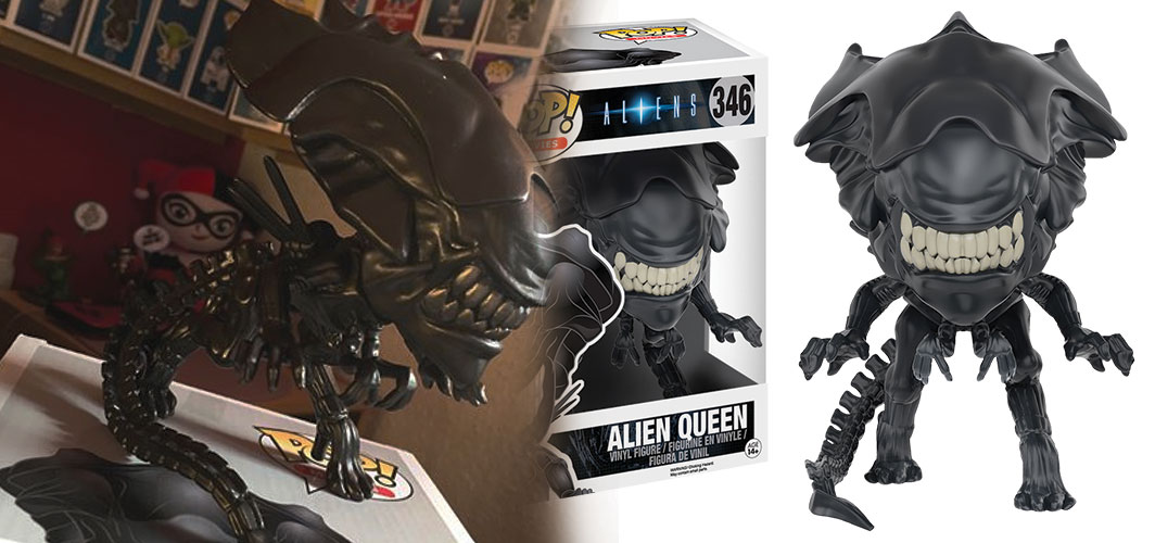 "Gift Ideas for Horror Fans - Pop Vinyl 6"" Queen Alien"