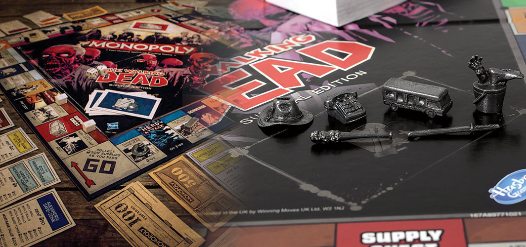 Gift Ideas for Horror Fans - Walking Dead Monopoly