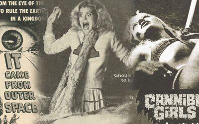 Horror Movie Newspaper Adverts