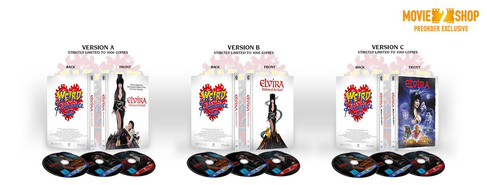 Elvira Blu-Ray