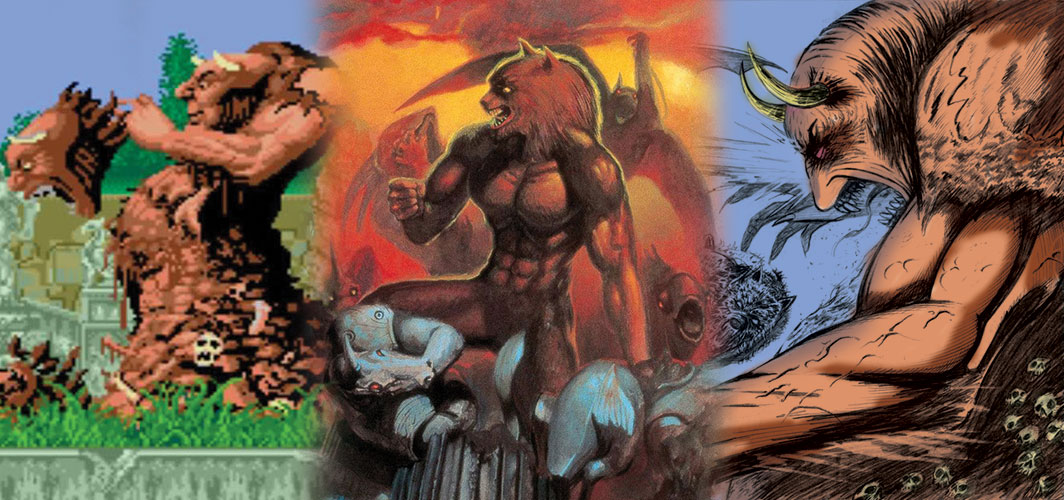 Video Game Bosses - Altered Beast