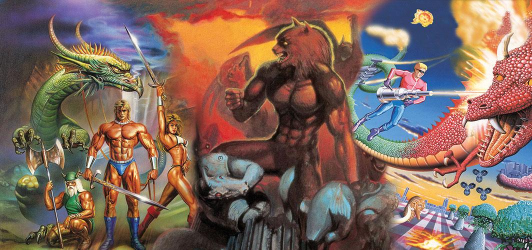Remembering – Retro Arcade Bosses