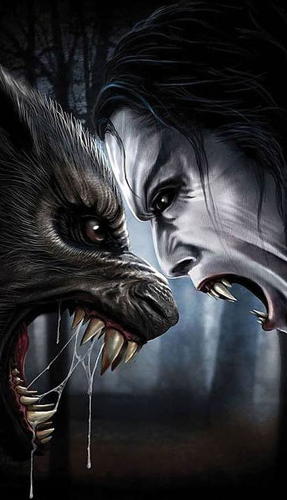 vampire vs werewolf who would win horror land