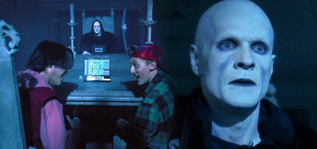 bill and ted meet death