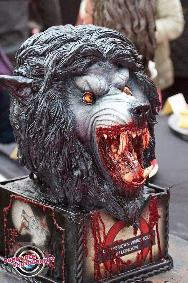 American Werewolf Cake