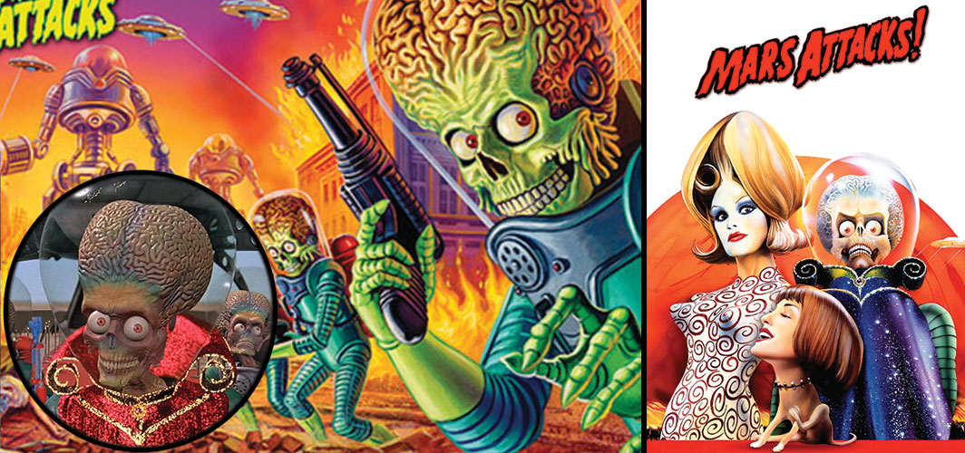 Chaotically Evil Creatures - Mars Attacks
