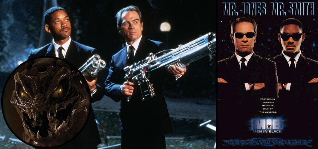 Chaotically Evil Creatures - Men In Black
