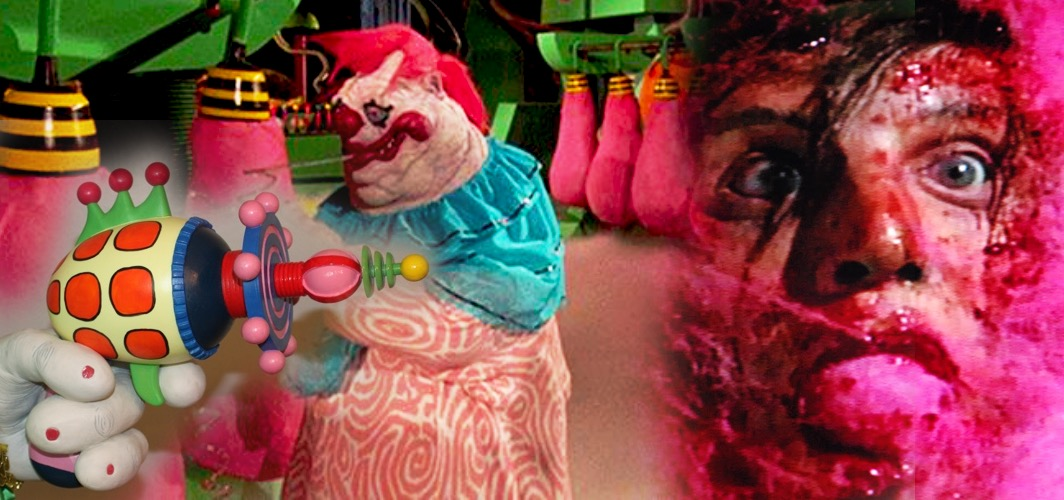 Cotton Candy Gun—Killer Klowns from Outer Space (1988) - 10 Bizarre Movie Weapons