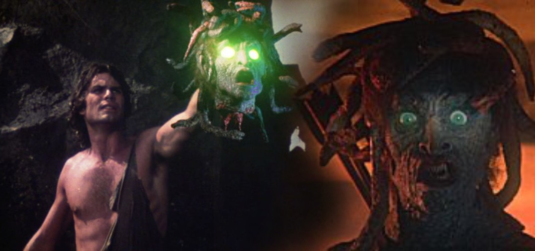 Medusas Head - Clash of the Titans (1981) - 10 Bizarre Movie Weapons