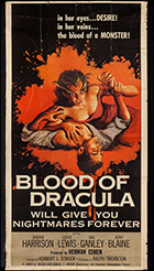 Blood Of Dracular Three Sheet Poster Small