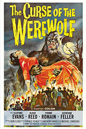 Curse of the Werewolf Small Poster
