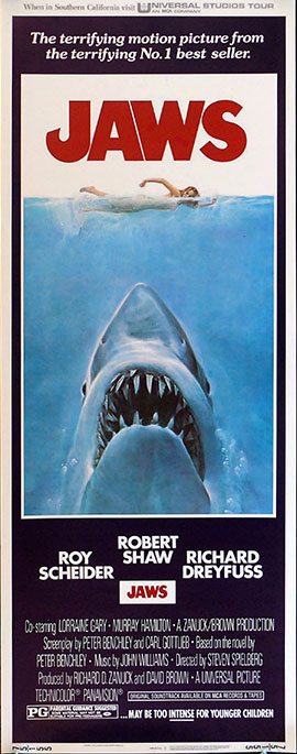 Jaws Insert Poster Small