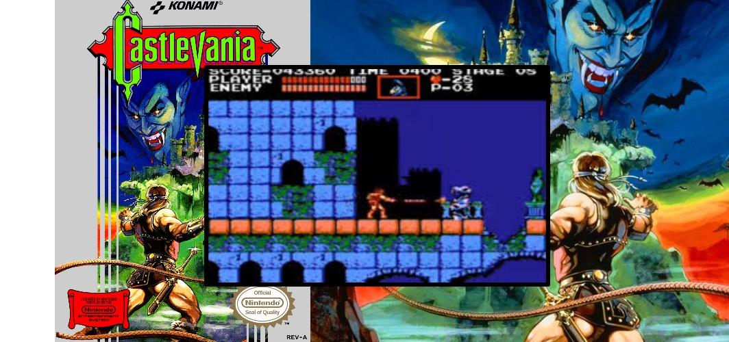 Castlevania - The Evolution of Horror Videos Games 1984 -1986