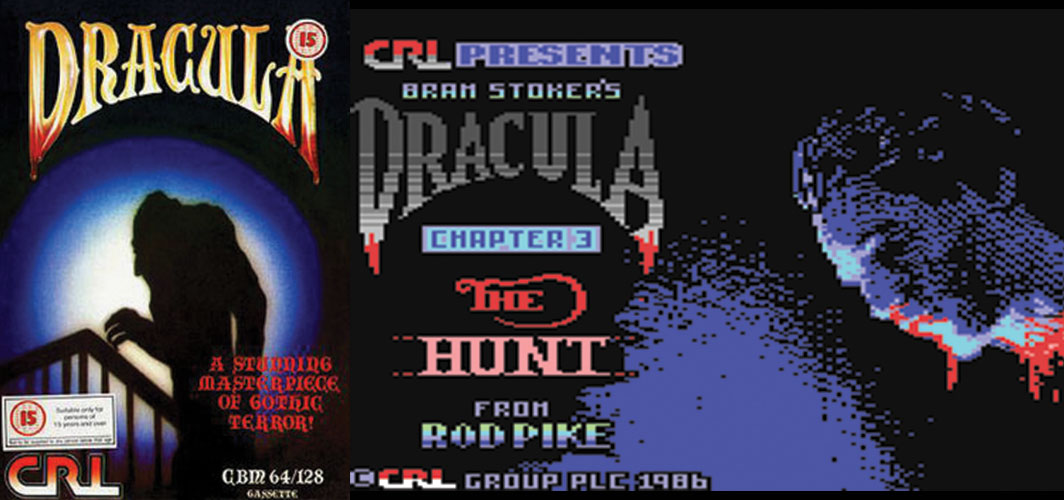 - The Evolution of HorroDracular - Videos Games 1984 -1986