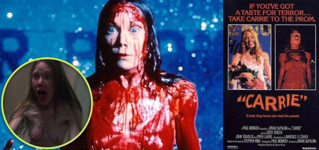 Films We Only Watch for The Nudity - Carrie (1976)