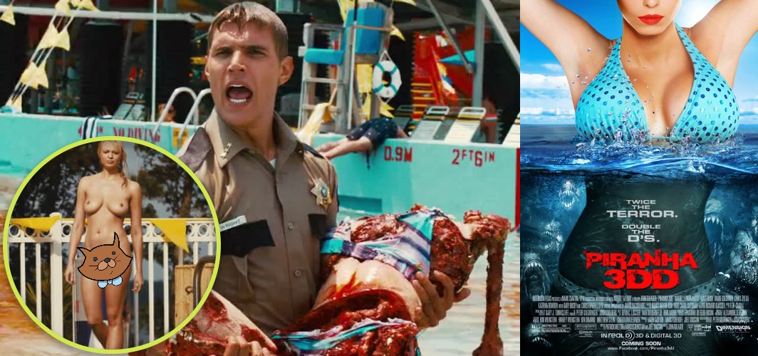 Films We Only Watch for The Nudity - Piranha 3D (2010) and Piranha 3DD (2012)