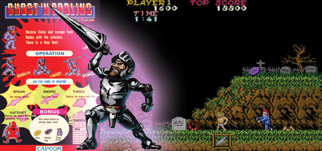 Ghosts 'n Goblins - The Evolution of Horror Videos Games 1984 -1986