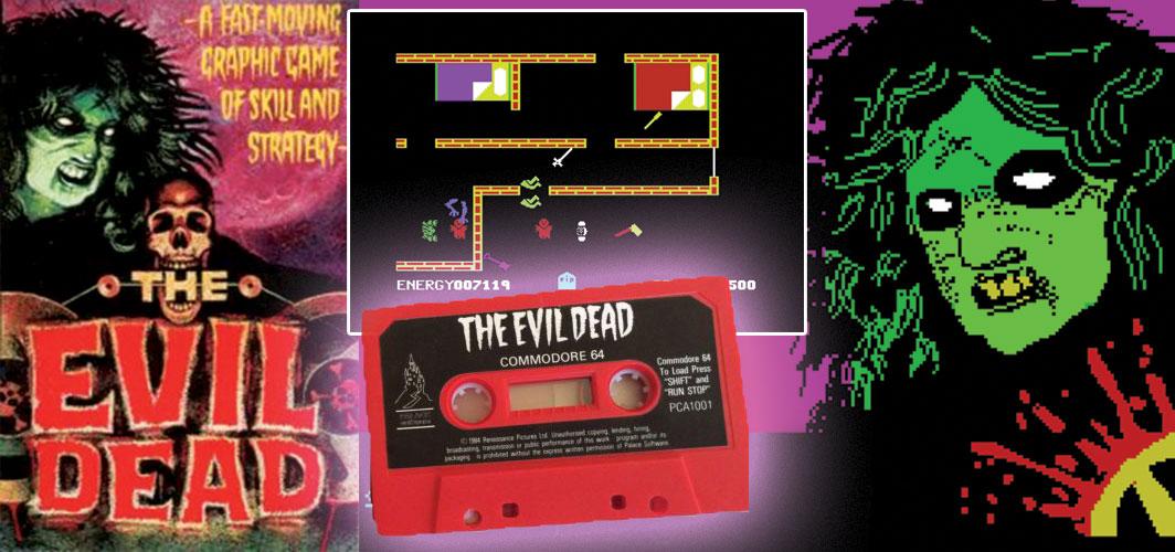 The Evil Dead (1984) - The Evolution of Horror Videos Games 1984 -1986 -