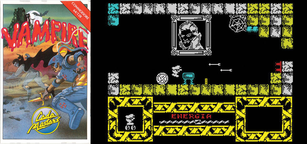 Vampire - The Evolution of Horror Videos Games 1984 -1986