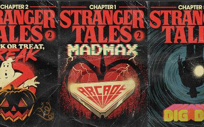"Retro Book Covers for ""Stranger Things"" Season 2"