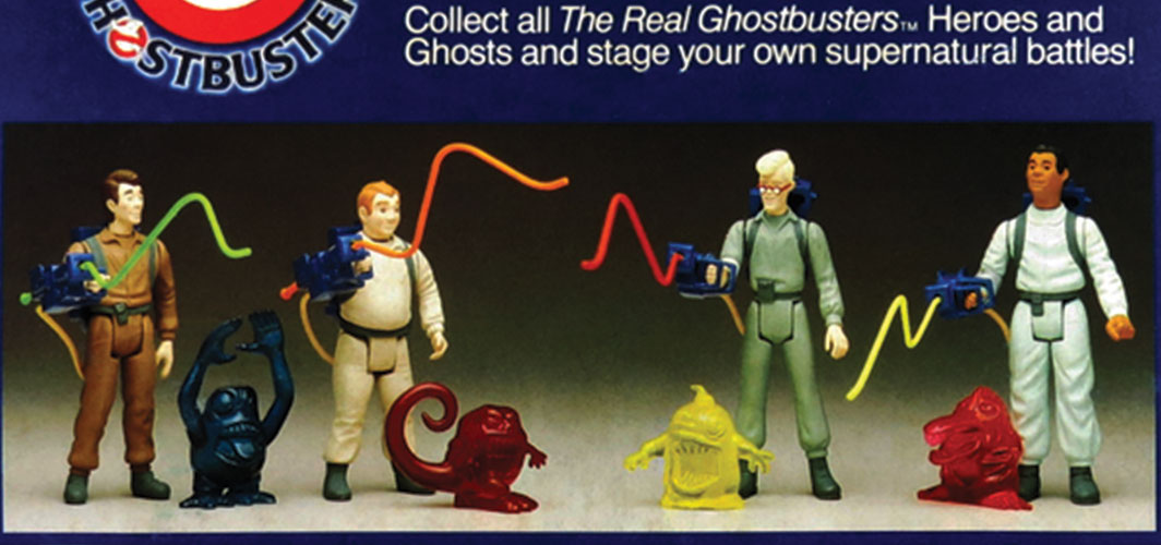 Remembering – The Real Ghostbusters - Kenner Toy Line