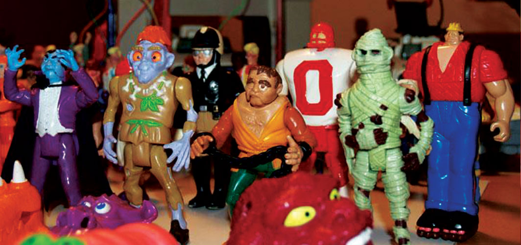 Remembering – The Real Ghostbusters - Kenner Toy Line - The Ghosts
