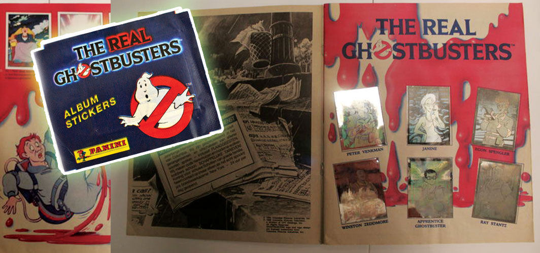 Remembering – The Real Ghostbusters - Sticker Book