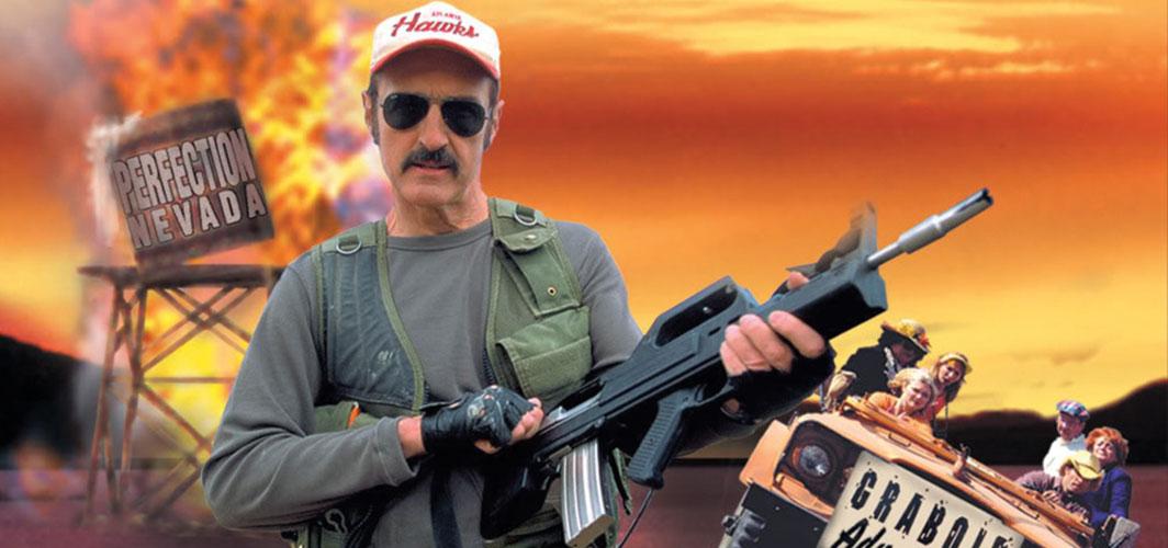 Burt Gummer is NOT in the Tremors TV Series