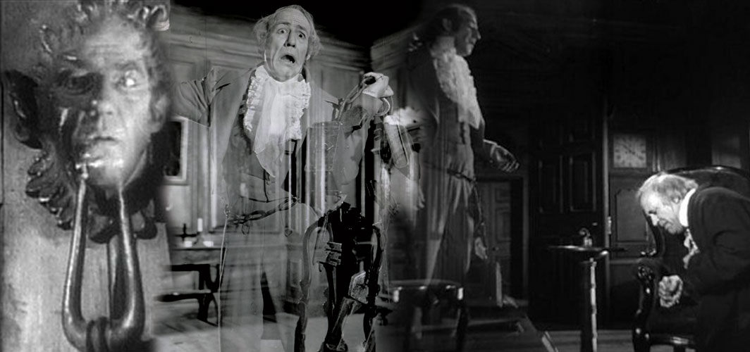 Michael Hordern Marley- Jacob Marley - A Christmas Carol (1988) - The Many Ghosts of 'A Christmas Carol'