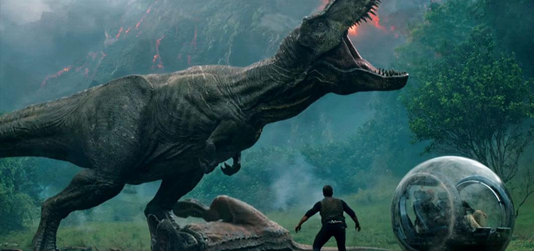 Jurassic World: Fallen Kingdom Trailer Stomps Online