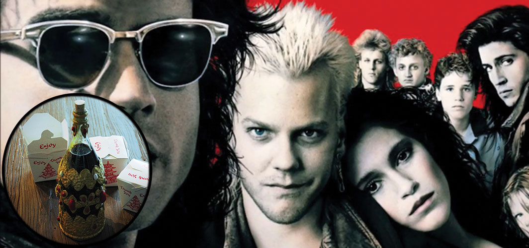 6 Movie Things You'll Regret Putting in Your Mouth - The Lost Boys (1987)