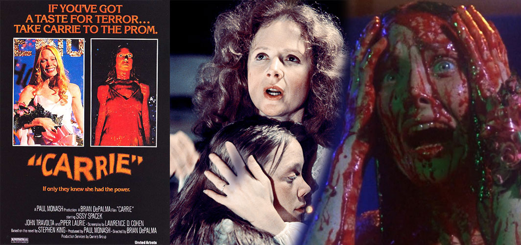 Carrie (1976) - 10 of the best High School Horror Films