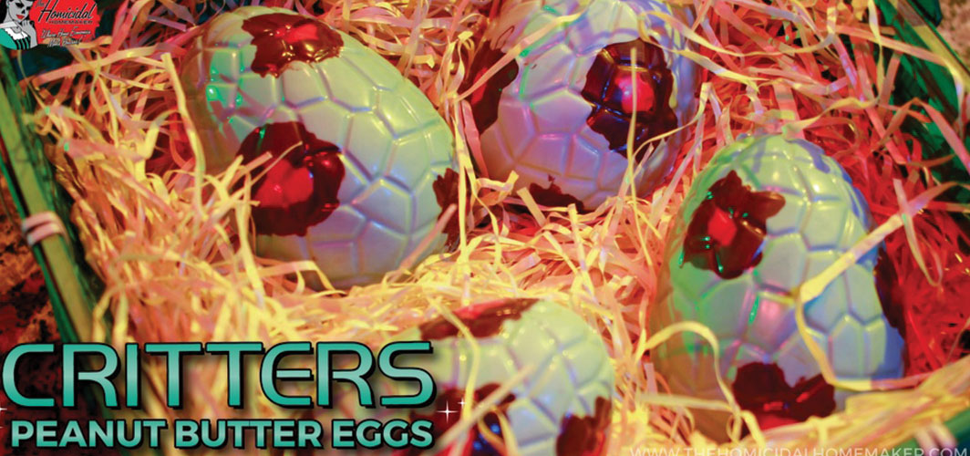"""Critters"" Peanut Butter Eggs Recipe"