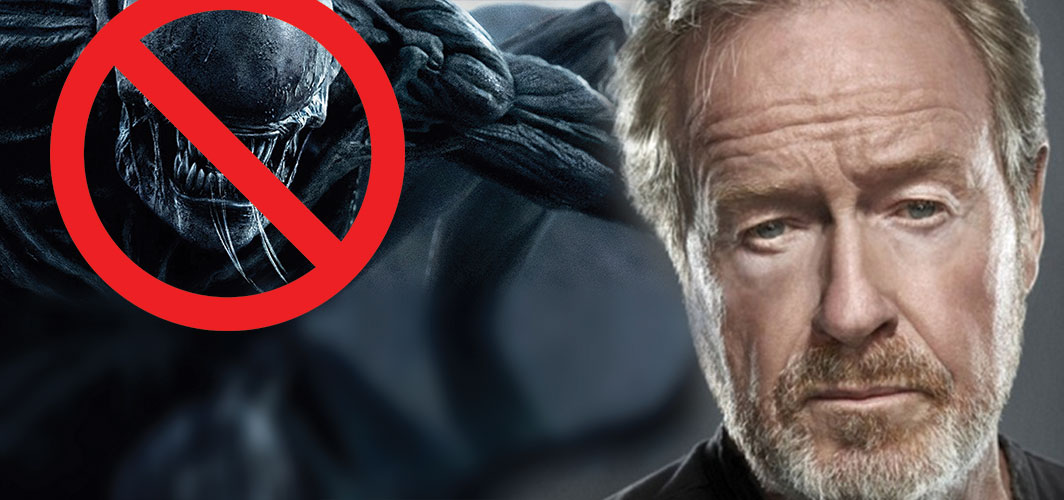 Ridley Scott Wants to Replace the Alien