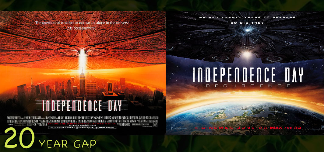 Independence Day: Resurgence (1996 -2016) - The Art of the 20 Year Gap Sequel