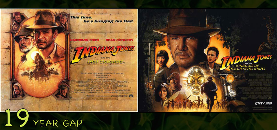 Indiana Jones and the Kingdom of the Crystal Skull (1989 - 2008) - The Art of the 20 Year Gap Sequel