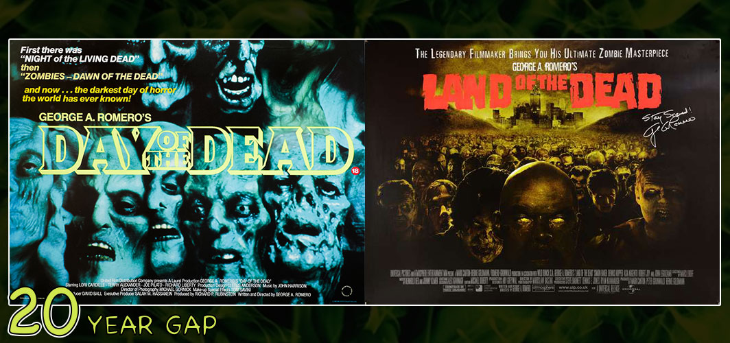Land of the Dead (1985 – 2005) - The Art of the 20 Year Gap Sequel