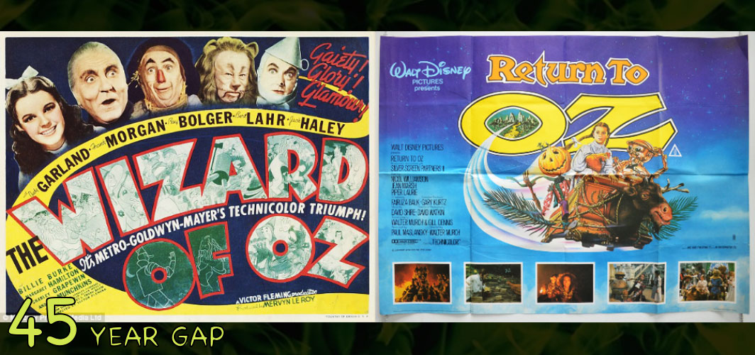 Return to Oz (1939 -1985) - The Art of the 20 Year Gap Sequel